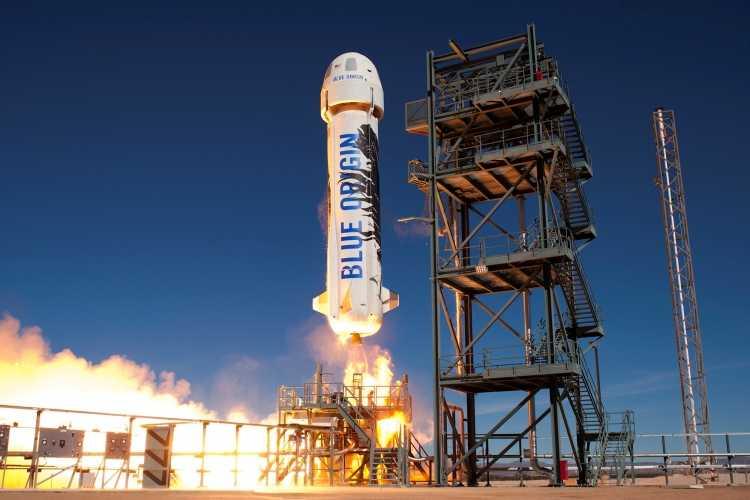 Blue Origin на старте