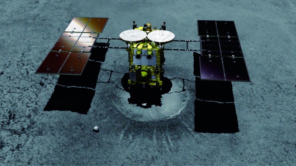 Хаябуса-2 приземление на астероид