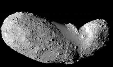 Кремневый астероид Итокава