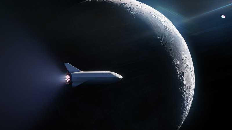 SpaceX первый полет