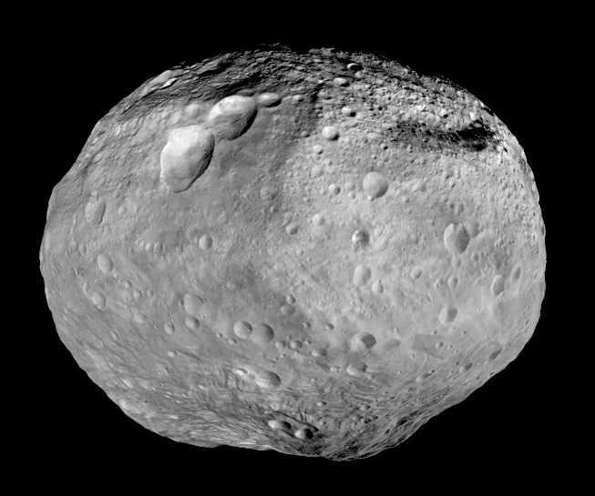 Углеродный астероид Веста