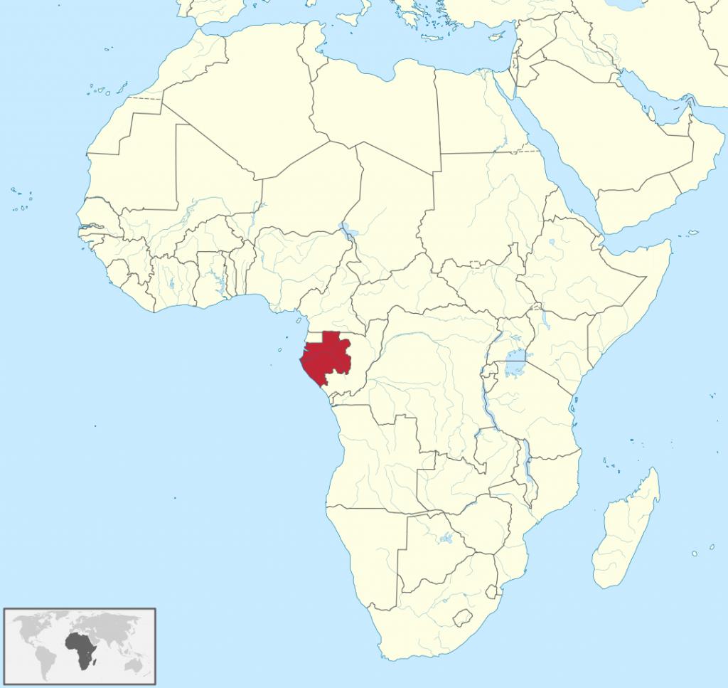 Габон, Около
