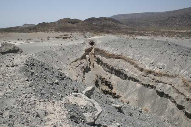 Гигантская трещина в Эфиопии