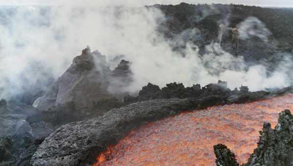 Извержение вулкана Тоба