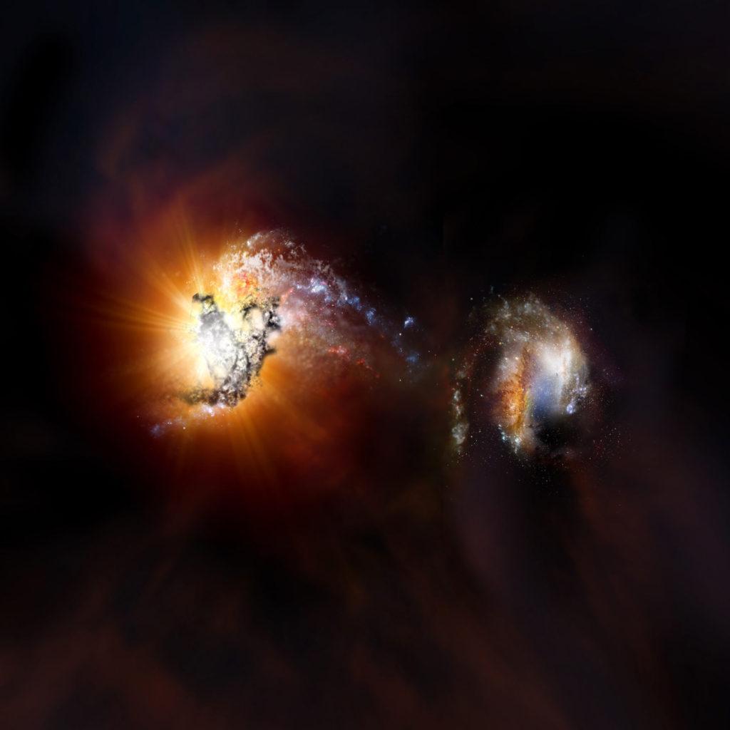 Галактика ADFS-27 1