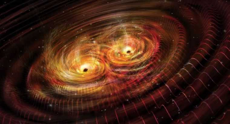 Гравитационные волны при сближении