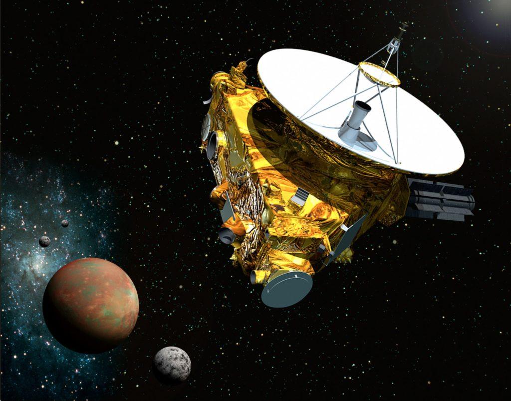 Космическая станция New Horizons