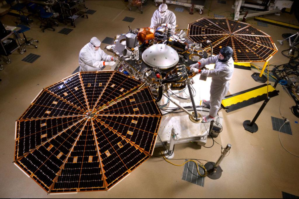 Летим на Марс на аппарате InSight