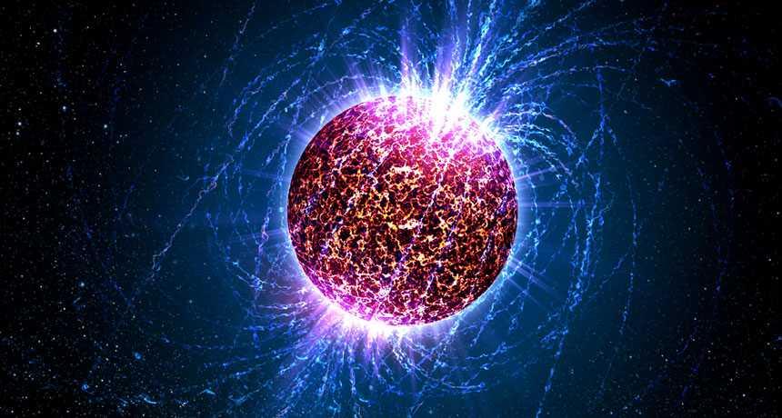 Прочный материал внутри нейтронных звёзд