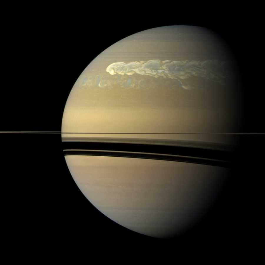 Сатурн снимок Кассини