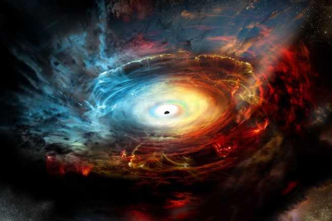 Сверхмассивные черные дыры во Вселенной