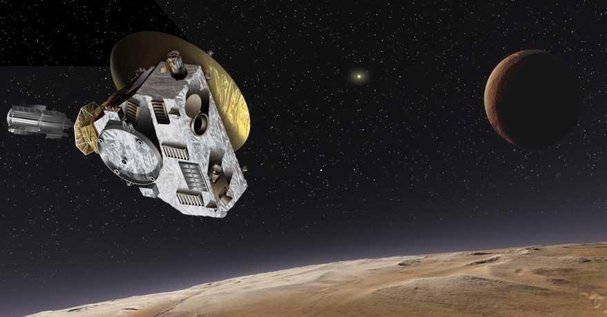 Плутон глазами New Horizons (источник spacenews.com)