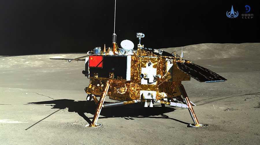 На обратной стороне Луны. Высадка Чаньэ-4