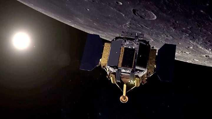 Чанъэ-4 на Луне