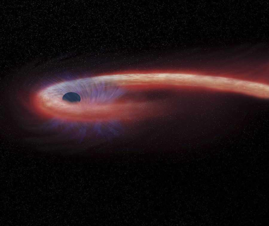 Сверхмассивные черные дыры во Вселенной 1